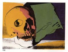 Andy Warhol - Skull (1928-1987, United States)
