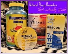 I've dealt with #insomnia for ten years, so I've tried a lot of all natural sleep aids. This is my review of the best and most popular natural sleep aids that work.#naturalremedies