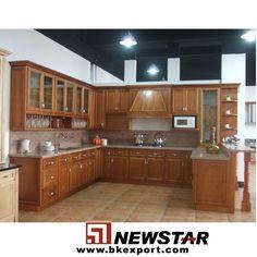 Gabinetes de cocina ( cereza de madera gabinete de la cocina con encimeras de granito )