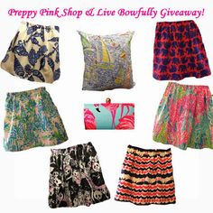 GIVEAWAY! Enter To Win A $30 Gift Card To Preppy Pink Shop!!  #lillypulitzer #preppy #giveaway #preppypinkshop #livebowfully