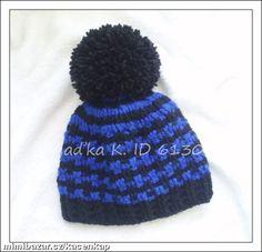 Milé maminky,vkládám návod na jednoduchý kulíšek.Pokud již tady někde bude návod,tak se omlouvám,ale... Knitted Hats, Winter Hats, Beanie, Knitting, Fashion, Knit Hats, Moda, Tricot, Fashion Styles