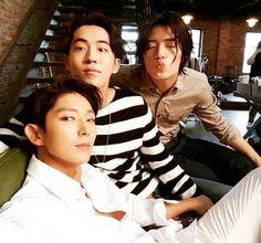 Detrás de cámaras , #LeeJoonGi, #IU, #BaekHyun, #SeoHyun