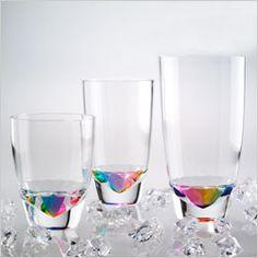 rainbow crystal acrylic tumbler set of 12 14 oz merritt
