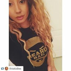 Thanks for Love @thiskidlex WWW.BEARDBAD.COM #Repost @thiskidlex with @repostapp ・・・ @beardbad sent me a t-shirt because they know how much I love bad beards. Check them out! You won't regret it.💕 #socomfy#beardbad #beard #beards #tshirt #tee #tshirts #tees #teeshirt #beardapparel #tshirtdesign #clothes