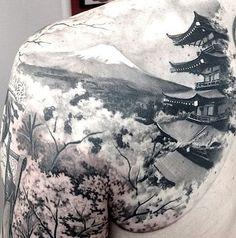 Fuji mount tattoo