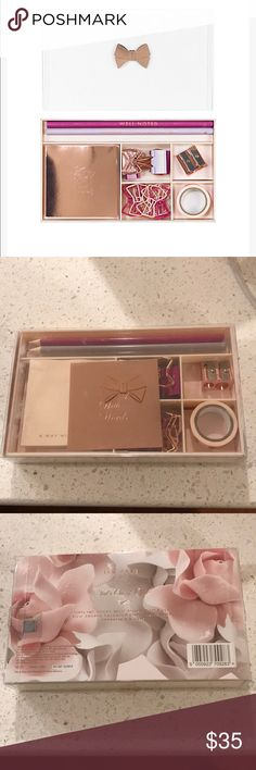 Ted's out of office desk set New with tags, contains office supplies Ted Baker Other
