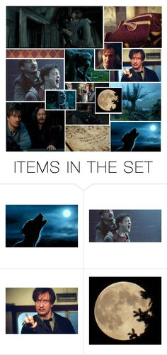 """Remus Lupin"" by thehelsinghatter ❤ liked on Polyvore featuring art, PottermoreInPolyvoreMagicChallenge and MembersoftheOrder"