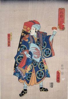 Kunisada Utagawa, 1852, Japan