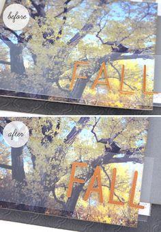 Silhouette studio Tutorial :: Bolding Letters