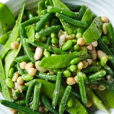 Healthy and simple 7 Bean Salad recipe. #BiteMeMore