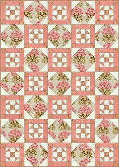 Philadelphia Pavement Quilt Block & Quilt Pattern