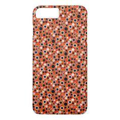 Cute orange suns patterns design iPhone 7 plus case