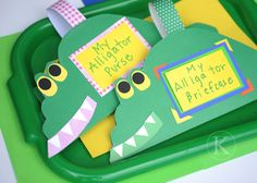 Don't we all need to accessorize with an alligator purse every once in a while? This is a cute craft to go with the song. :) Jodi from The Clutter-Free Classroom {www.CFClassroom.com}