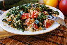 Lemon & Kale Quinoa Salad