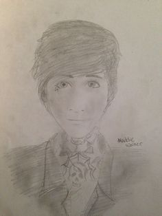 I drew Oli from Bring Me The Horizon