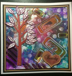 Aquatints, new abstract stamps and from the new tree stamp sheet