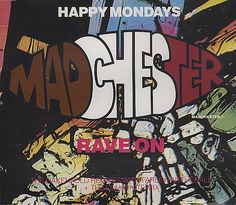 """For Sale - Happy Mondays Madchester Remixes UK  CD single (CD5 / 5"""") - See this and 250,000 other rare & vintage vinyl records, singles, LPs & CDs at http://eil.com"""