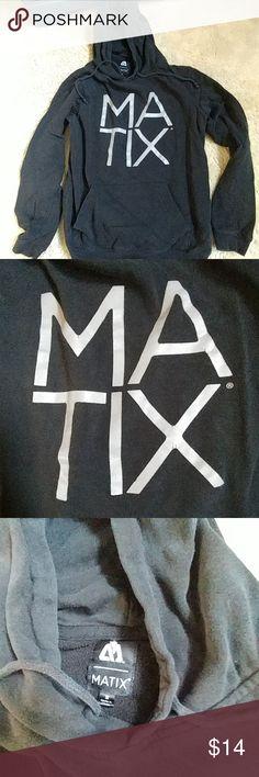 Men's skateboarding black Matix hoodie small Men's skateboarding Matix black hoodie small Matix Clothing Company Shirts Sweatshirts & Hoodies