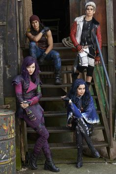 The Disney Channel will air a new original movie, Descendants, telling the story of the teenage children of four famous Disney villains.