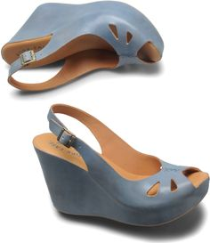 cork wedge platform slingback sandals