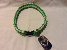 Paracord dog collar by RopeForHope on Etsy, $10.50