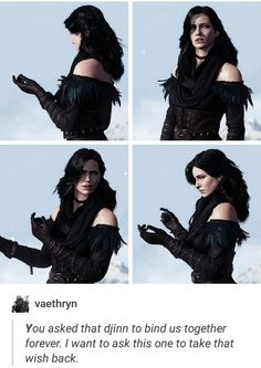 Yennefer, The Last Wish, The Witcher 3: Wild Hunt