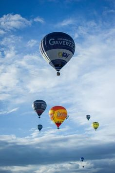 Hot Air Balloons, Waregem, Belgium  April 2014