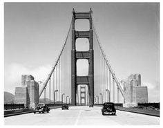 Golden Gate Bridge, San Francisco, CaliforniaHistoric Photo,  San Francisco Historical Photograph Collection This photo is undated but Id guess its from the late 1930s.