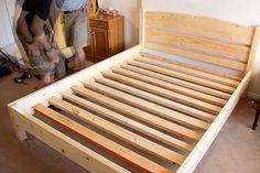 Кровать своими руками из дерева | Частный Дом