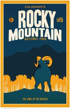Rocky Mountain National Park by Matt Brass