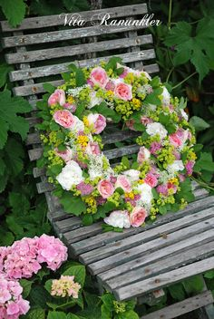 White Ranunkler: Happy Midsummer