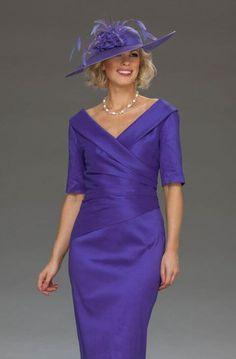 Ispirato short cross-over neck dress iw178 077ce2e714a