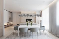 Amazing Home design is actually really great because it use a Amazing theme where it can make our Home looks great. Check the latest Amazing Home design by reading (Types Of Modern Dining Room Designs With White and Wooden Accent Decor) Apartment Interior, Kitchen Interior, Dining Room Design, Modern Interior Design, Interior Decorating, House Design, Home Decor, Glitter Confetti, Choices