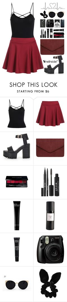 """SheIn 6"" by scarlett-morwenna ❤ liked on Polyvore featuring Dorothy Perkins, Stila, Bobbi Brown Cosmetics, Eight & Bob, MAKE UP FOR EVER, Una-Home and Topshop"