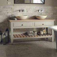 Looking for the perfect freestanding bathroom cabinet? From vanity units to tall cabinets, we've found a freestanding bathroom cabinet to suit all styles. Bathroom Red, Large Bathrooms, Bathroom Cabinets, Small Bathroom, Bathroom Ideas, Cloakroom Ideas, Parisian Bathroom, Classic Bathroom, Bathroom Tallboy
