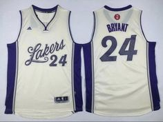 33d4582f2 Buy NBA Lakers 24 Kobe Bryant Cream Christmas Day Swingman Jersey from  Reliable NBA Lakers 24 Kobe Bryant Cream Christmas Day Swingman Jersey  suppliers.
