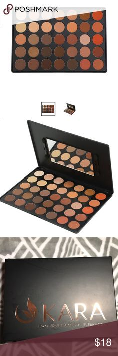 Highly pigmented eyeshadow pallet Kara beauty  Highly pigmented shades including matte and shimmer color Brand new in packaging 35 colors. Fast shipping no trades❤️ Sephora Makeup Eyeshadow