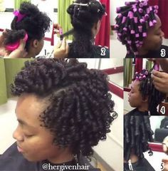 Natural Hair-Styles.