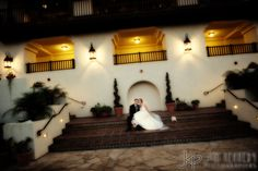 Bride and Groom at Estancia La Jolla Hotel | Jim Kennedy Photographers