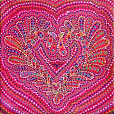 Original handmade mandala painting acrylic on canvas DIY fashion design art Handegemalte Acrylbild auf Leinwand Kunst Esoterik Wandschmuck Wohndekor Mode Yoga inspiration meditation crazylovemandala
