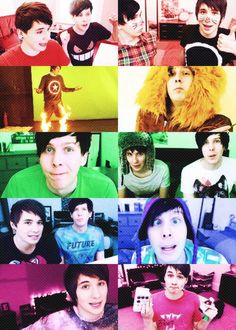 Dan and Phil :3
