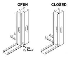 Installation Procedures | ClarkDietrich Building Systems Building Systems, Drywall, Steel Frame, Gypsum