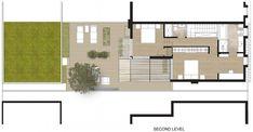 Plano de casa segundo piso