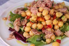 ¡Rica y #NUTRITIVA #ensalada de garbanzos!