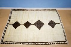 Sweet Simple Vintage Persian Area Rug All Natural No Dyes. $1,325.00, via Etsy.