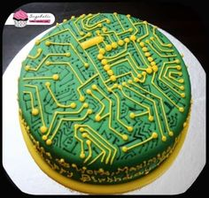 birthday cake for Engineering Students... For Latest Project Titles Plz Vist www.finalyearieeeprojects.com
