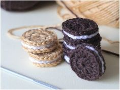 Cream Filled Biscuits – Crochet