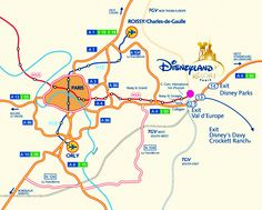 How to reach Disneyland Paris