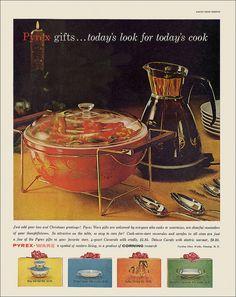 Pyrex Ad, 1960