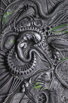 """The Hive"" Polymer clay journal by Mandarin Duck www.mandarin-duck.com"